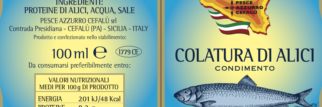 Colatura of anchovies