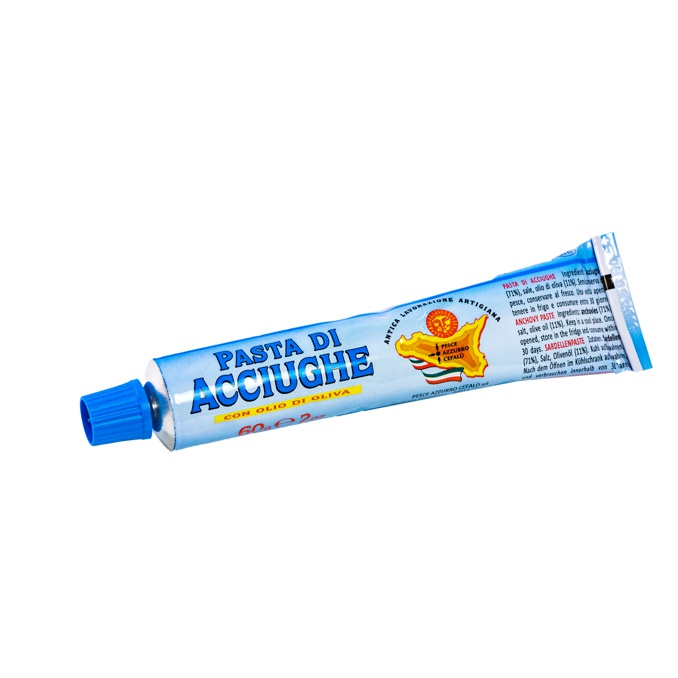 Anchovy pasta Pesce Azzurro