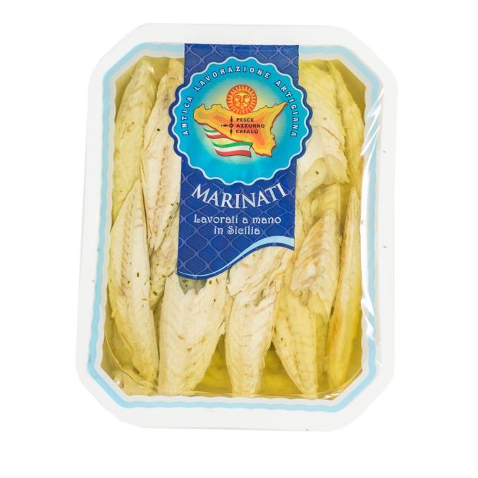 Marinated mackerel Pesce Azzurro